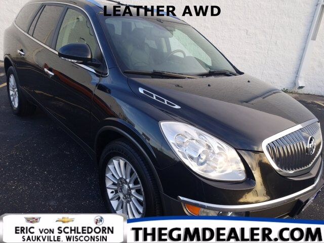 2012 Buick Enclave Leather AWD w/HtdMemLthr ISRV-MirrorRearCamera Milwaukee WI