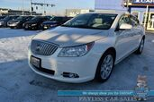 2012 Buick LaCrosse Premium 1 / AWD / Auto Start / Heated Leather Seats / Panoramic Sunroof / Bluetooth / Back Up Camera / Cruise Control / 26 MPG