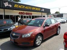 CHEVROLET CRUZE LS,CERTIFIED W/ WARRANTY, LOW MILES, 1 OWNER, KEYLESS ENTRY, A/C, CRUISE CONTROL, NICE! 2012