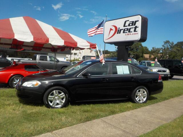 2012 CHEVROLET IMPALA LT SEDAN, BUY BACK GUARANTEE & WARRANTY, REMOTE START, SUNROOF, SAT RADIO, ONLY 53K MILES! Virginia Beach VA