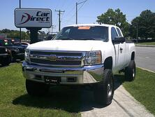 CHEVROLET SILVERADO 1500 LT 4X4 EXT CAB, AUTOCHECK CERTIFIED, LIFTED, TOW PKG, ION RIMS, ONLY 1 OWNER, ONLY 76K MI! HOT! 2012