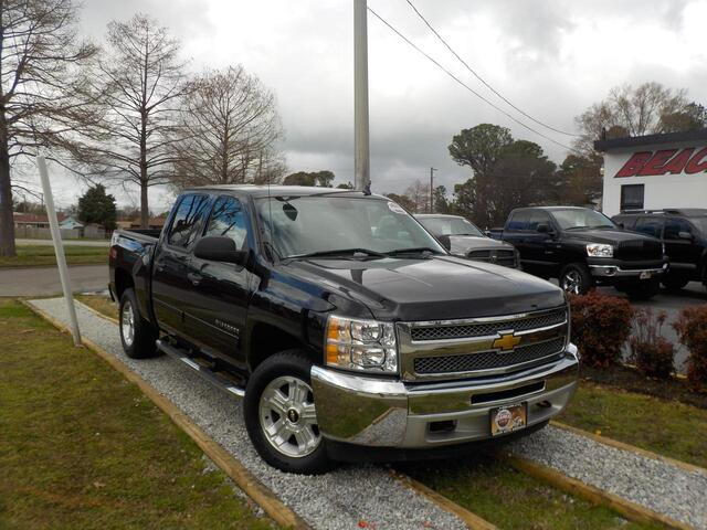 2012 CHEVROLET SILVERADO LT CREW CAB 4X4, WARRANTY, Z71 PKG, TOW PKG, RUNNING BOARDS, ONSTAR, BED LINER, KEYLESS ENTRY, USB!! Norfolk VA