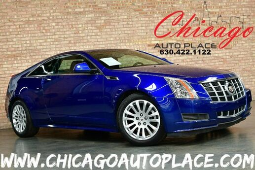 2012 Cadillac CTS Coupe AWD - 3.6L VVT V6 ENGINE BLACK LEATHER DUAL ZONE CLIMATE CONTROL ALL WHEEL DRIVE BOSE AUDIO BLUETOOTH Bensenville IL