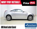 2012 Cadillac CTS Coupe Performance AWD