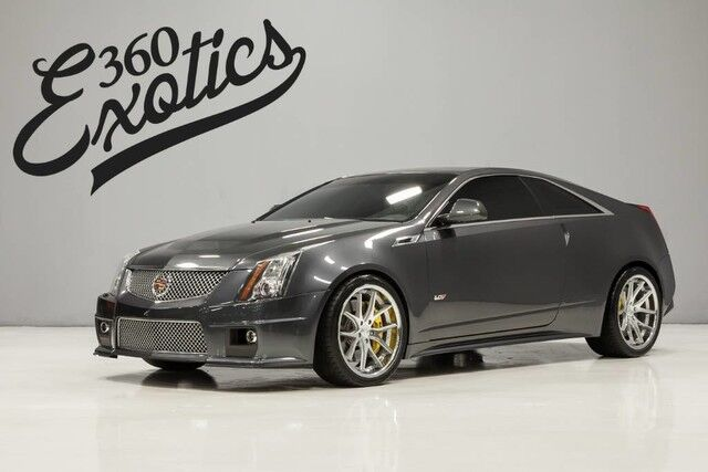 2012_Cadillac_CTS-V Coupe__ Austin TX