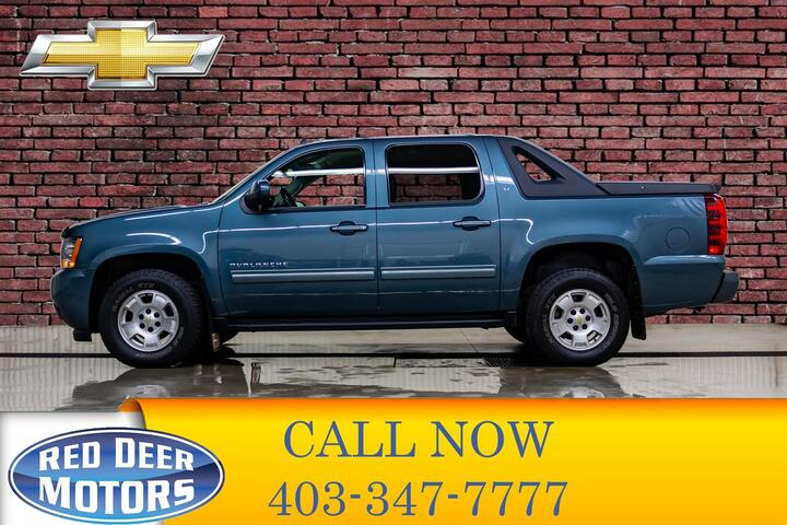 2012 Chevrolet Avalanche 4X4 LT Red Deer AB
