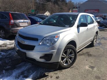 2012_Chevrolet_Equinox_LS_ Worcester MA