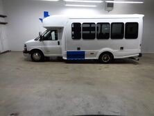 Chevrolet Express Commercial Cutaway Diesel 14 Passenger Shuttle Bus Luggage Storage Rack 2012