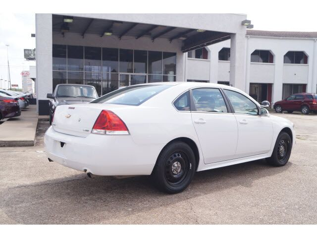 2012 Chevrolet Impala POLICE Houston TX