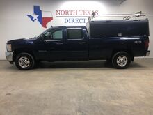 2012_Chevrolet_Silverado 2500HD_LT 4x4 Crew Diesel ARE Tool Box Topper Ladder Rack_ Mansfield TX