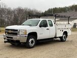 2012 Chevrolet Silverado 3500HD 4 Door XCAB 4x4 Service Body