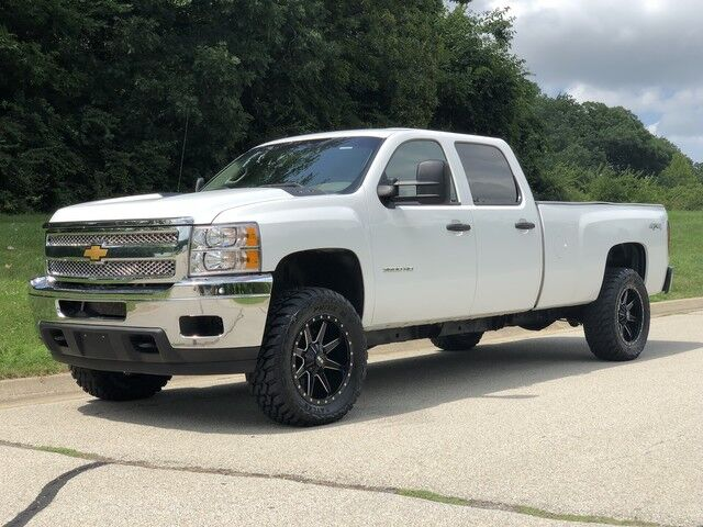 2012_Chevrolet_Silverado 3500HD_6.6L Duramax Diesel 4x4 Crew 1-Owner Truck_ Decatur IL