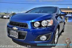 2012_Chevrolet_Sonic_LTZ / 6-Spd Manual / Turbocharged / Heated Leather Seats / Sunroof / Bluetooth / Cruise Control / 40 MPG_ Anchorage AK