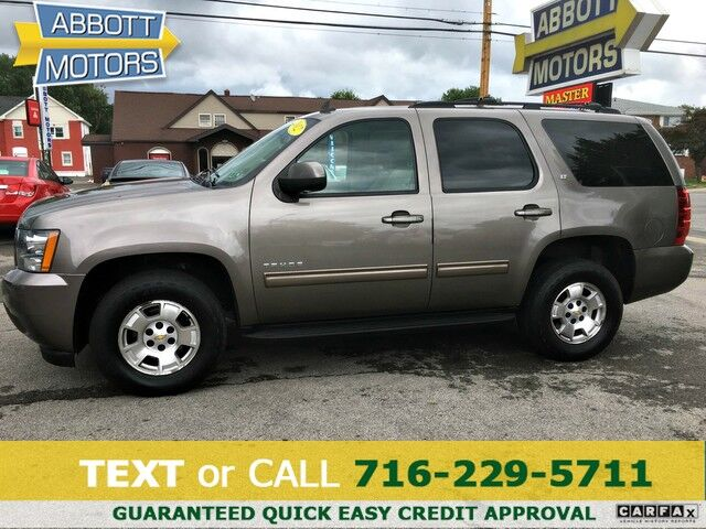 2012 Chevrolet Tahoe LT 4WD w/Leather & 3rd Row Seat Buffalo NY