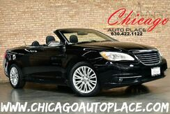 2012_Chrysler_200_CONVERTIBLE - LIMITED 1 OWNER 3.6L VVT FLEX-FUEL V6 ENGINE NAVIGATION BLACK LEATHER HEATED SEATS BOSTON PREMIUM AUDIO BLUETOOTH_ Bensenville IL