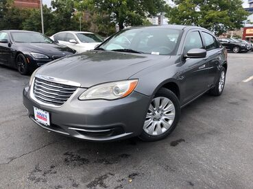 2012_Chrysler_200_LX_ Worcester MA