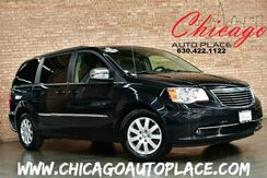 2012_Chrysler_Town & Country_Touring-L - NAVIGATION BACKUP CAMERA LEATHER CAPTAINS CHAIRS 3RD ROW REAR TV_ Bensenville IL