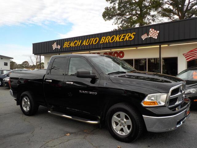 2012 DODGE RAM 1500 SLT, BUYBACK GUARANTEE, WARRANTY, SIRIUS RADIO, REMOTE START, TOW PKG, RUNNING BOARDS, CLEAN!!! Norfolk VA