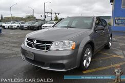 2012_Dodge_Avenger_SE / Automatic / Auto Start / Aux Jack / Power Mirrors Windows & Locks / Cruise Control / Block Heater / 30 MPG_ Anchorage AK