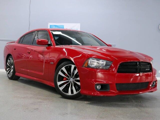 2012 Dodge Charger SRT8 RED/RED Hickory Hills IL