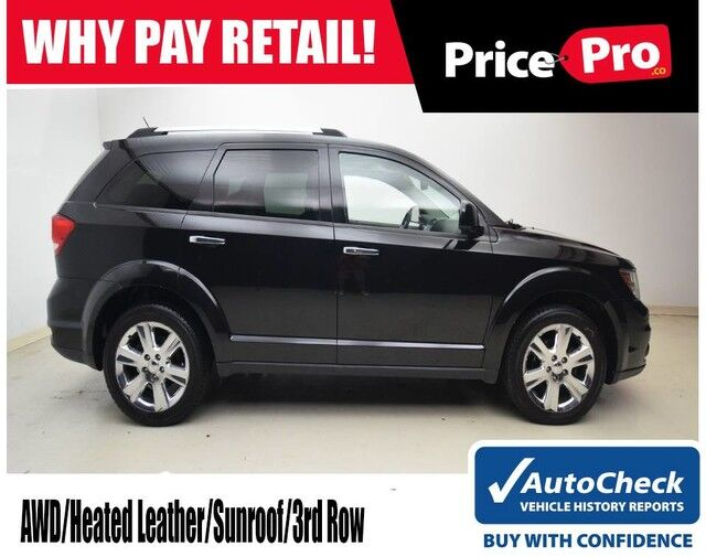 2012 Dodge Journey Crew AWD V6 w/Leather & Sunroof Maumee OH