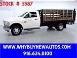 2012 Dodge Ram 3500 ~ 12ft Stake Bed ~ Liftgate ~ Only 35K Miles!