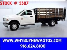 2012_Dodge_Ram 3500_~ 12ft Stake Bed ~ Liftgate ~ Only 35K Miles!_ Rocklin CA