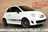 2012 FIAT 500 Abarth - 1.4L I4 MULTI-AIR TURBO ENGINE 5 SPEED MANUAL FRONT WHEEL DRIVE BLACK LEATHER SPORT SEATS W/ RED STITCHING HARMAN/KARDON AUDIO PERFORMANCE EXHAUST