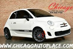2012_FIAT_500_Abarth - 1.4L I4 MULTI-AIR TURBO ENGINE 5 SPEED MANUAL FRONT WHEEL DRIVE BLACK LEATHER SPORT SEATS W/ RED STITCHING HARMAN/KARDON AUDIO PERFORMANCE EXHAUST_ Bensenville IL