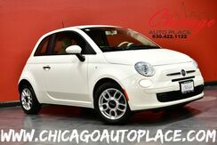 2012_FIAT_500_Pop - 5-SPEED MANUAL TRANSMISSION 1.4L I4 MULTI-AIR ENGINE IVORY/RED CLOTH INTERIOR PROJECTOR HEADLAMPS ALLOY WHEELS_ Bensenville IL