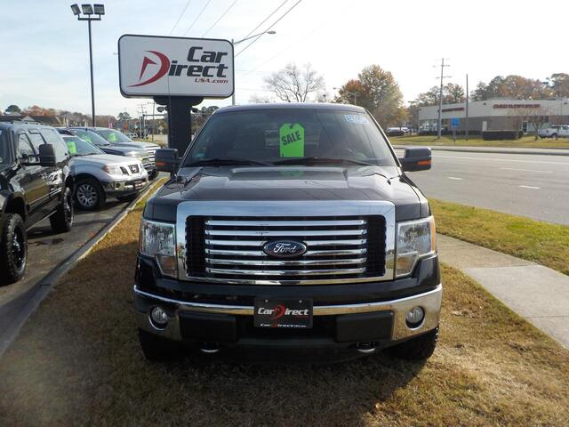 2012 FORD F-150 XLT 4X4, BUY BACK GUARANTEE AND WARRANTY, MULTI DISC, BLUETOOTH, SIRIUS, TOW PKG, 115K MILES! Virginia Beach VA