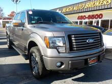 2012_FORD_F-150_FX4 CREWCAB 4X4, WARRANTY, TOW PKG, RUNNING BOARDS, SAT RADIO, PARKING SENSORS, BED LINER,BLUETOOTH!_ Norfolk VA