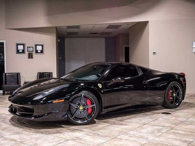 2012_Ferrari_458 Italia_Coupe_ Chicago IL