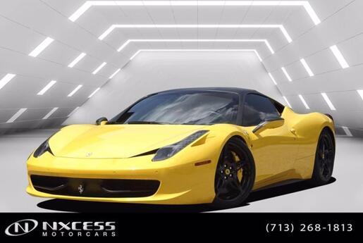 2012 Ferrari 458 Italia Sport Coupe Houston TX