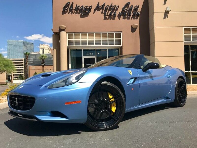 2012_Ferrari_California_Convertible_ Chicago IL