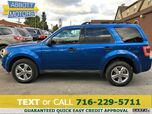 2012 Ford Escape XLT 4WD V6 1-Owner w/Moonroof