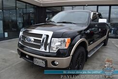 2012_Ford_F-150_King Ranch / 4X4 / 3.5L Ecoboost / Crew Cab / Heated & Cooled Leather Seats / Navigation / Sunroof / Sony Speakers / Auto Start / Bluetooth / Back Up Camera / Bed LIner / Tonneau Cover / Tow Pkg_ Anchorage AK