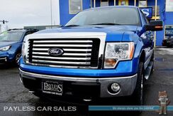 2012_Ford_F-150_XLT / 4X4 / 5.0L V8 / Crew Cab / Automatic / Power Driver's Seat / Microsoft Sync Bluetooth / Cruise Control / Only 29k Miles / Block Heater / Bed Liner / Tow Pkg_ Anchorage AK