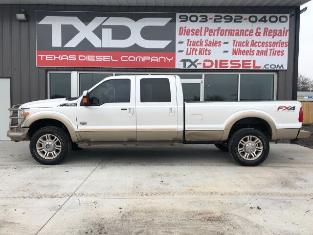 2012 Ford F-350 SD King Ranch Crew Cab Long Bed 4WD Van Alstyne TX