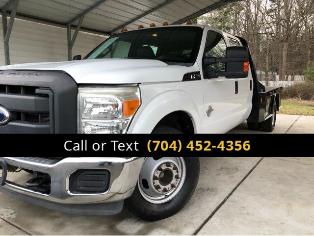 2012 Ford F-350 SD XL FLAT BED Charlotte and Monroe NC