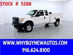2012 Ford F350 ~ 4x4 ~ Extended Cab ~ Utility ~ Only 64K Miles!