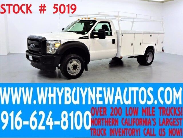2012 Ford F450 ~ 11ft Utility ~ Top Boxes ~ Only 55K Miles! Rocklin CA