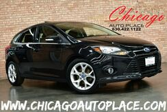 2012_Ford_Focus Hatchback_Titanium - 2.0L 4-CYL ENGINE 6-SPEED MANUAL TRANSMISSION NAVIGATION BLACK/RED LEATHER INTERIOR HEATED SEATS KEYLESS GO SONY AUDIO_ Bensenville IL