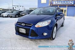 2012_Ford_Focus_SEL / Automatic / Heated Leather Seats / Bluetooth / Rear Parking Sensors / Cruise Control / New Tires / 38 MPG_ Anchorage AK