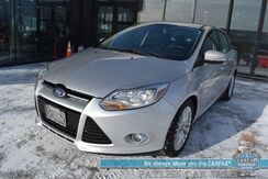 2012_Ford_Focus_SEL / Automatic / Power Driver's Seat / Leather Seats / Sunroof / Bluetooth / Cruise Control / 38 MPG_ Anchorage AK