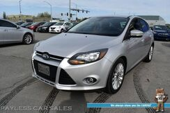 2012_Ford_Focus_Titanium / Automatic / Heated Leather Seats / Navigation / Sony Speakers / Bluetooth / Back Up Camera / Cruise Control / Aluminum Wheels / Keyless Entry & Start / 38 MPG_ Anchorage AK