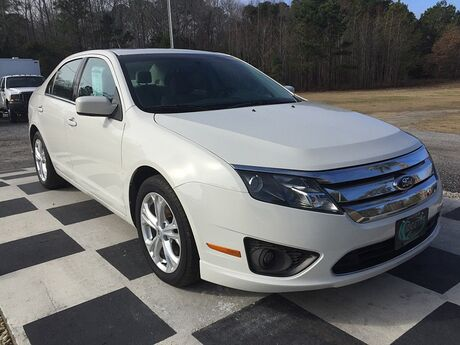 2012 Ford Fusion 4d Sedan SE Outer Banks NC