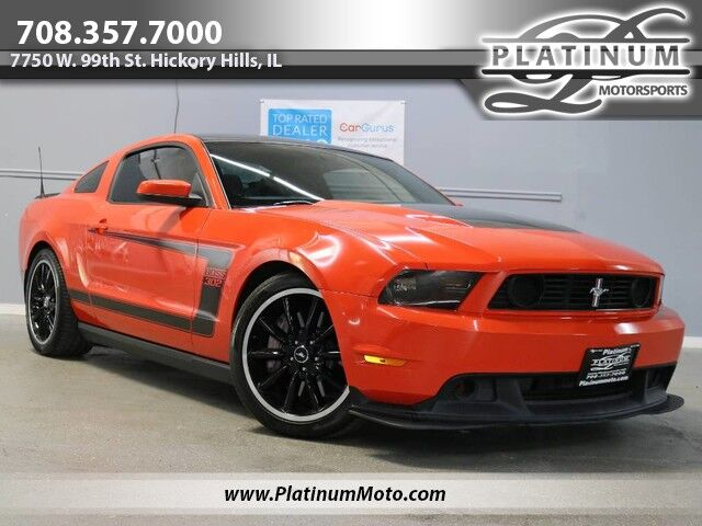 2012 Ford Mustang Boss 302 Track Key 1 of 1,135 Produced Be The Boss Hickory Hills IL