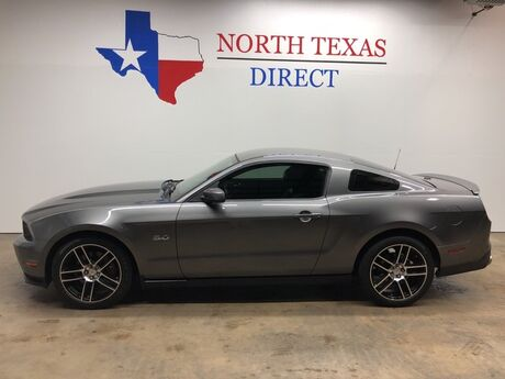 2012 Ford Mustang GT Premium 5.0 V8 Leather AUX Black Wheels Manual Mansfield TX