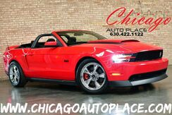 2012_Ford_Mustang_GT Premium CONVERTIBLE - 5.0L COYOTE V8 ENGINE REAR WHEEL DRIVE ROUSH EXHAUST FORD RACING SWAY BARS CHROME WHEELS_ Bensenville IL